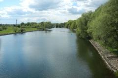 Blick von der Galower Brücke auf den Kanal