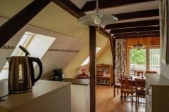 Blick von der Küche zum Essplatz  -  Foto: A. Declair